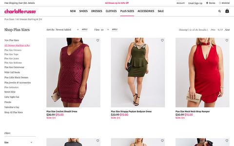 Plus Size Weekly Deal | Charlotte Russe