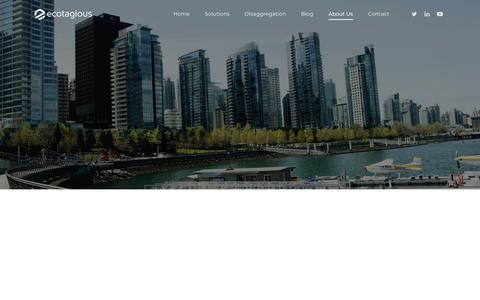 Screenshot of Team Page ecotagious.com - Our Team - Ecotagious - captured May 16, 2019
