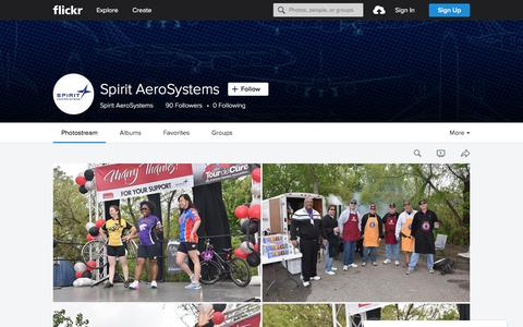 Screenshot of Flickr Page flickr.com - Spirit AeroSystems | Flickr - Photo Sharing! - captured June 15, 2016
