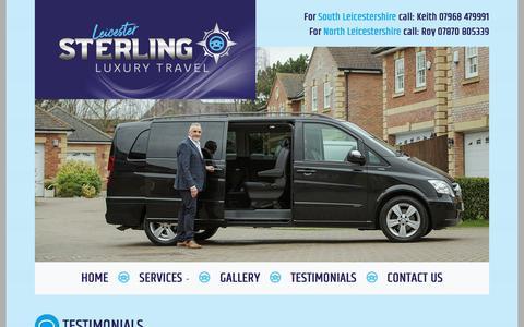Screenshot of Testimonials Page sterlingluxurytravel.co.uk - Sterling Luxury Travel - captured June 3, 2018
