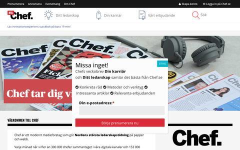 Om Chef – Chef.se