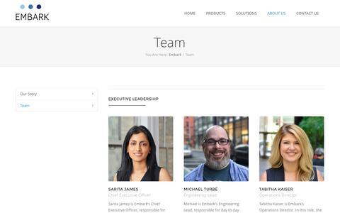 Embark - Team