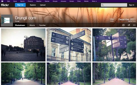 Screenshot of Flickr Page flickr.com - Flickr: Drungli's Photostream - captured Oct. 29, 2014