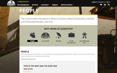 Screenshot of Team Page sunstateequip.com - People, our most valued asset | Sunstate Equipment - captured Nov. 5, 2017