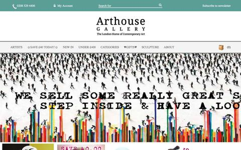Screenshot of Privacy Page arthouse-gallery.co.uk - Arthouse Gallery | Original Art Online | Art Prints - captured July 30, 2018