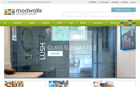 Screenshot of Jobs Page modwalls.com - Modwalls - Making Tile Modern - captured Sept. 23, 2014