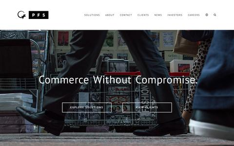 PFS | Global eCommerce Solutions Provider
