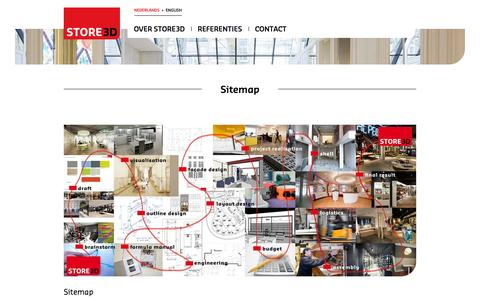 Screenshot of Site Map Page store3d.nl - Sitemap - Store3d NL - captured Oct. 7, 2014