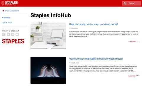 Staples InfoHub | Staples®