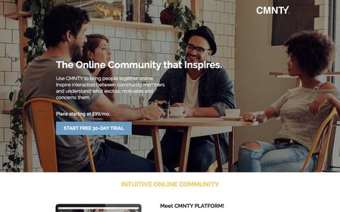 Online communities that Inspire Interaction
