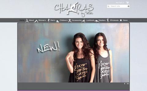 Screenshot of Home Page chakrasbydidi.com - Chakras by didi - captured Dec. 8, 2015