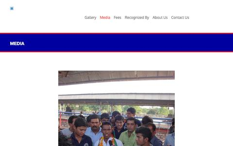 Screenshot of Press Page diasunited.com - Media   Dias United - captured Feb. 8, 2016