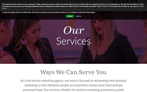 Screenshot of Services Page dma-solutions.com - Services | DMA Solutions - captured Oct. 7, 2018