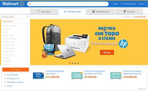 Screenshot of walmart.com.mx - Walmart.com.mx - captured Aug. 19, 2016