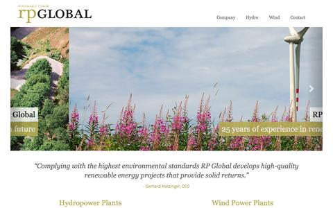Screenshot of Home Page rp-global.com - rp-global.com: rp-global.com - captured Jan. 26, 2015