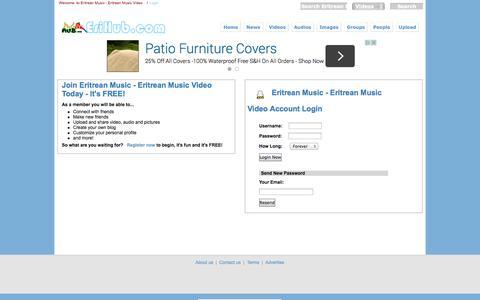 Screenshot of Login Page erihub.com captured Oct. 30, 2014