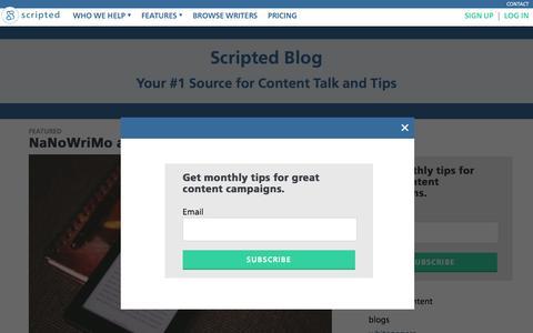 Scripted Blog