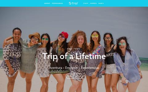 Screenshot of Home Page s-trip.com.do - S-Trip Dominicana - captured Sept. 30, 2018