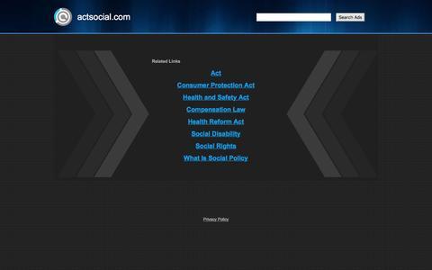 actsocial.com