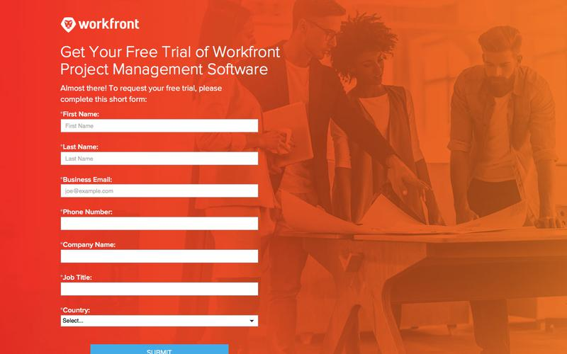 Workfront Free Trial | Free Project Management Software