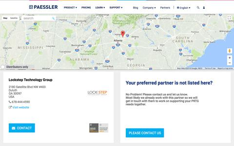 Worldwide Resellers for Paessler Software