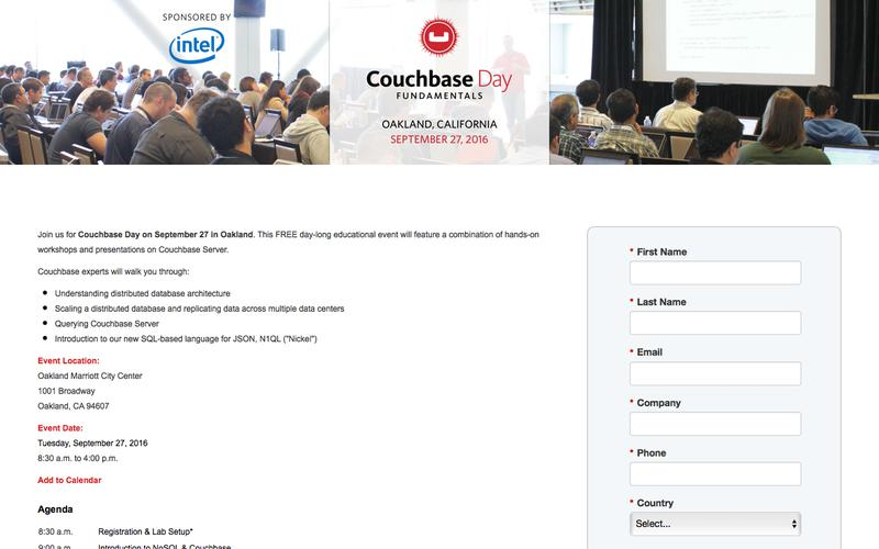 Couchbase Day Oakland