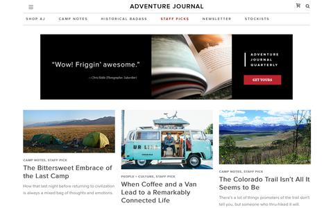 Staff Pick Archives - adventure journal