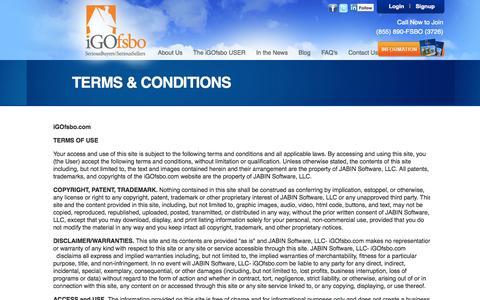Screenshot of Terms Page igofsbo.com - iGOfsbo.com | - captured Oct. 27, 2014