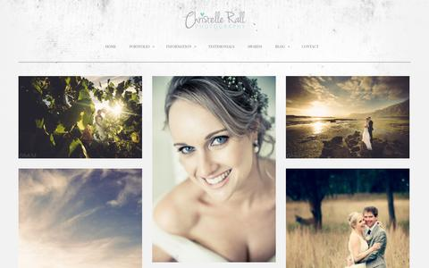 Screenshot of Testimonials Page christellerall.com - Testimonials - Beautiful Wedding Photography | South African Wedding Photography - captured Oct. 27, 2014