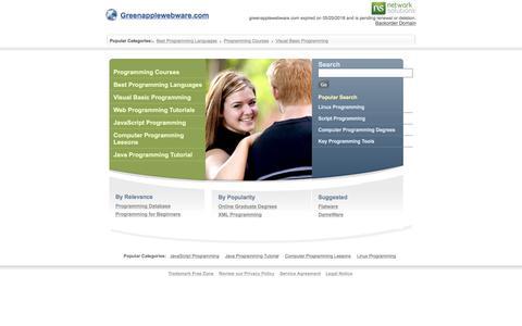 Greenapplewebware.com