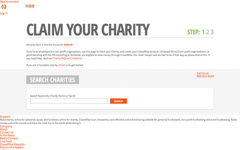 Charity Search | Charity Online Fundraising on CrowdRise