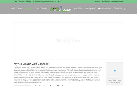 Myrtle Beach Golf Courses | TheGolfDirector.com