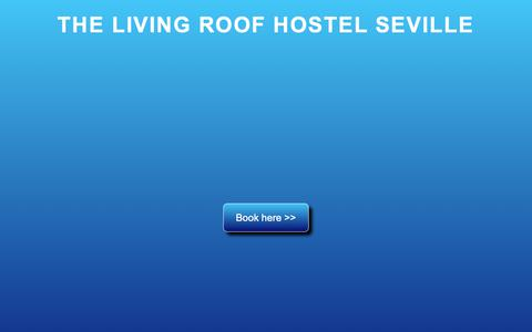 Screenshot of Home Page thelivingroofhostel.com - The Living Roof Hostel Seville - captured Oct. 20, 2018