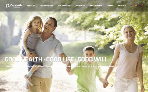 Screenshot of Contact Page goodwillpharma.com - Goodwill Pharma - captured Nov. 12, 2016