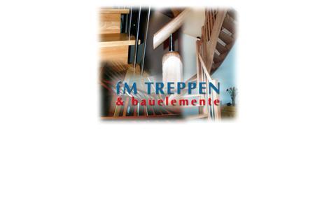 Screenshot of Home Page fm-treppen.de - FM Treppen und Bauelemente - captured June 9, 2016