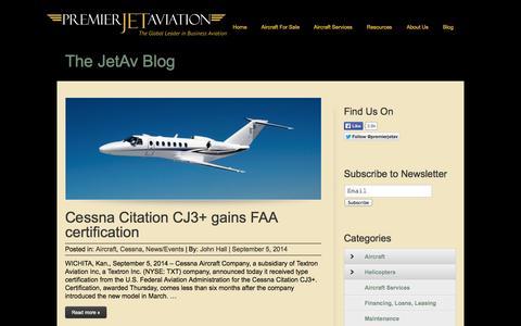Screenshot of Blog jetav.com - Jetav | Blog - captured Sept. 23, 2014