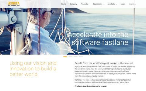 Screenshot of Terms Page bonofa.com - BONOFA – mlm software solutions - captured Oct. 2, 2015