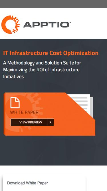 IT Infrastructure Cost Optimization