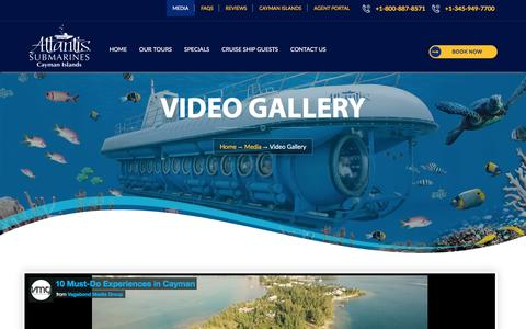 Video Albums - Cayman Island Atlantis Submarines