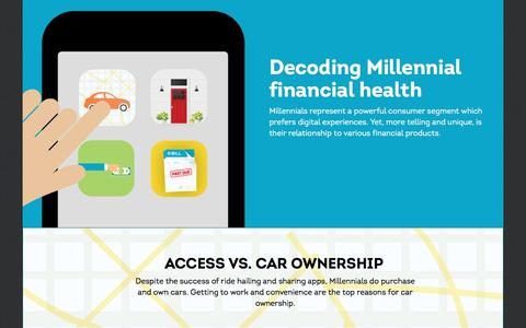 Screenshot of Landing Page transunion.com - Decoding Millennial financial health | TransUnion - captured March 5, 2018