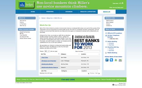 Screenshot of Jobs Page boaa.com captured Nov. 3, 2014