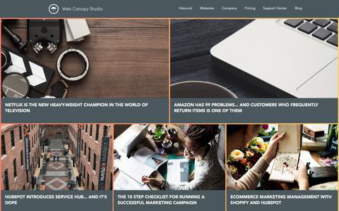 SaaS Website Design | Web Canopy Studio