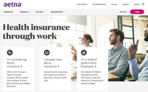 Health Insurance Through Work