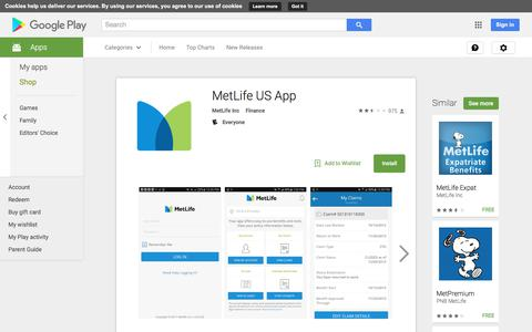 MetLife US App - Android Apps on Google Play