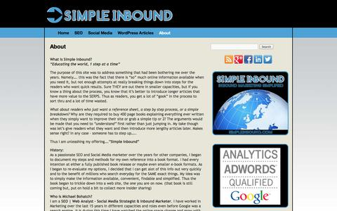 About | SimpleInbound SEO | Michael Bohatch