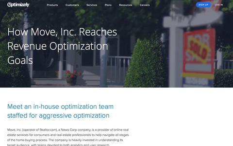 Move, Inc. Optimizely Case Study