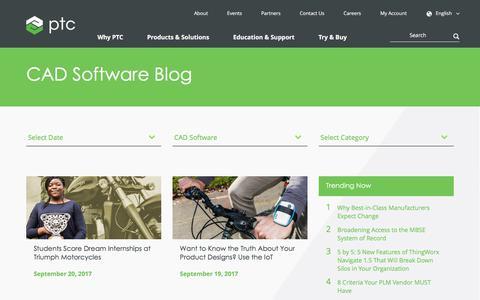 CAD Software Blog | PTC