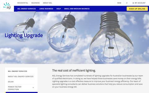 Lighting Upgrade for Businesses | AGL