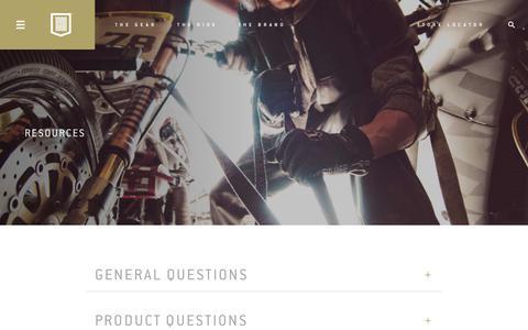 Screenshot of FAQ Page icon1000.com - FAQ | Icon 1000 - Go fast, look flash. - captured Nov. 28, 2017