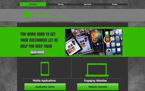 Screenshot of Home Page greenace.biz - Green Ace - captured Oct. 3, 2014
